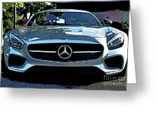 Mercedes-benz Amg Gt S Greeting Card