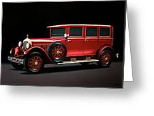 Mercedes-benz Typ 300 Pullman Limousine 1926 Painting Greeting Card