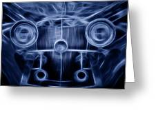 Mercedes Roadster Greeting Card