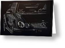 Mercedes Sl  Greeting Card