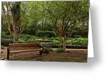 Botanic Garden Greeting Card