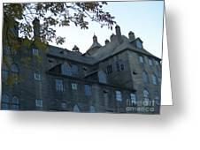 Mercer Museum At Dusk In Doylestown Pa Greeting Card