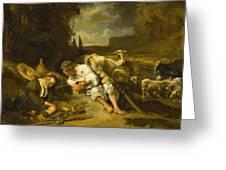 Mercury And Argus 1647 Greeting Card