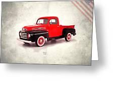 Mercury M47 1948 Greeting Card