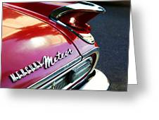 Mercury Meteor Greeting Card by Cathie Tyler