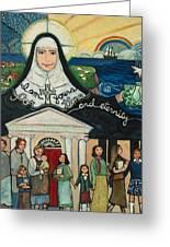 Mercy Foundress Catherine Mcauley Greeting Card