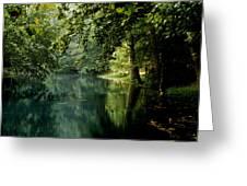 Meremac Springs  Greeting Card by Brenner Studios