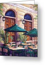 Merida Cafe Greeting Card