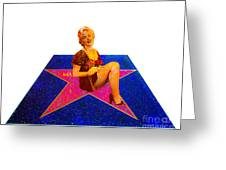 Merilyn Monroe Greeting Card