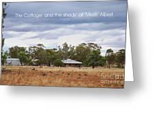 Meriti Cottage Greeting Card
