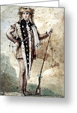 Meriwether Lewis Greeting Card