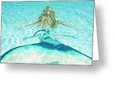 Mermaid Escape 2 Greeting Card