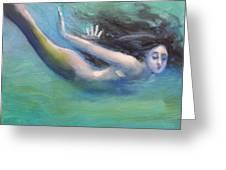 Mermaid Freedom Greeting Card