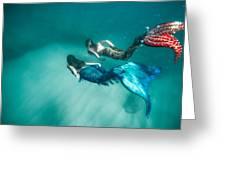Mermaid Friends Greeting Card