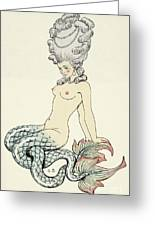 Mermaid, From Les Liaisons Dangereuses  Greeting Card