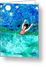 Mermaid Metamorphosis Greeting Card
