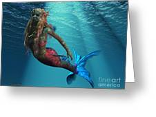 Mermaid Of The Ocean Greeting Card