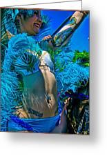 Mermaid Parade Participant Greeting Card