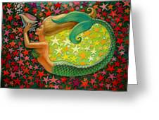 Mermaid's Circle Greeting Card