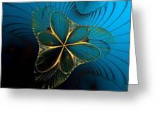Mermaid's Corsage Greeting Card