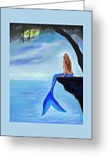 Mermaids Lovely Oasis Greeting Card