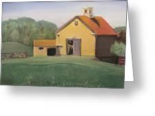 Merril Farm Greeting Card by Kimberly Abraham