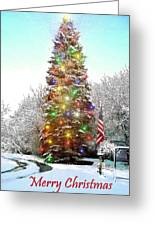 Merry Christmas 2015 Greeting Card