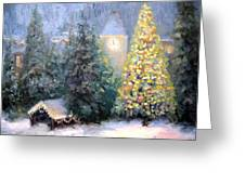 Merry Christmas From Vail Greeting Card