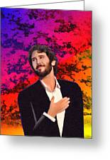 Merry Christmas Josh Groban Greeting Card