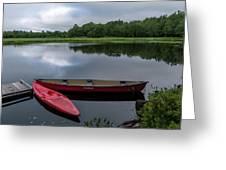 Mersey River Greeting Card