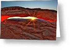 Mesa Arch 1 Greeting Card
