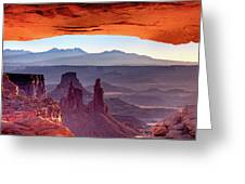 Mesa Arch 4 Greeting Card