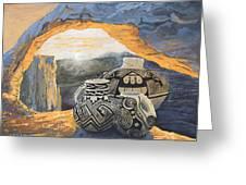 Mesa Arch Magic Greeting Card