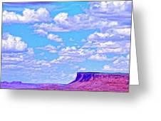 Mesa At Vermilion Cliffs Greeting Card