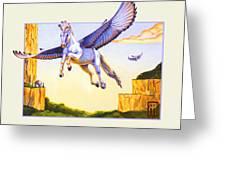 Mesa Pegasus Greeting Card