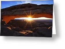 Mesa Sunrise Greeting Card