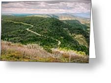 Mesa Verde Park Overlook II Greeting Card
