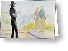 Mesa Verde Ranger Greeting Card