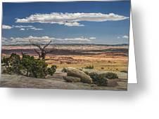 Mesa View In Utah Greeting Card