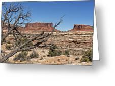 Mesas Near Moab Greeting Card