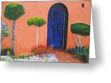Mesilla Door Greeting Card