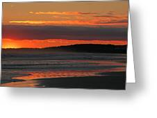 Mesmerize Me Sunset Greeting Card