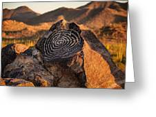 Message Rock Greeting Card