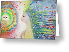 Messenger Of Hope  Greeting Card