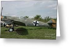 Messerschmitt Bf109 - 2 Greeting Card