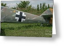 Messerschmitt Bf109 - 3 Greeting Card