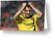 Messi 2 Greeting Card
