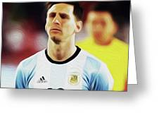 Messi #23 By Nixo Greeting Card