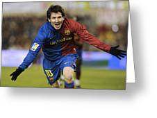 Messi 1 Greeting Card