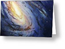 Messier 66 Greeting Card